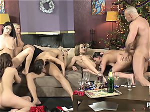 The lovemaking Game before Christmas sequence trio
