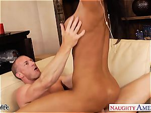 huge-boobed ultra-cutie Jessica Jaymes in need of a fine nailing
