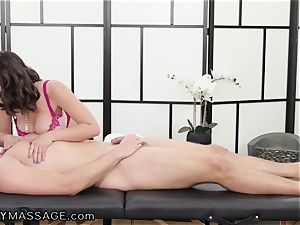 masseur Ella Knox And Her european bro In Law