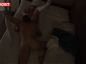 Russian honey gets pro fuck-a-thon to help her sleep