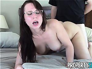 sugary Aidra Fox drills her crazy customer