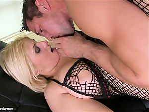 Brooklyn Bailey loves the beefy sword working firm to explode on her