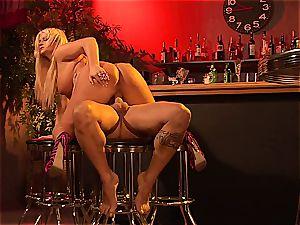 Julie Cash gets ravaged at a bar