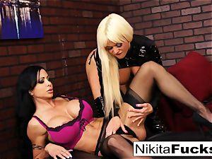 Nikita Von James and clit Jade ravage