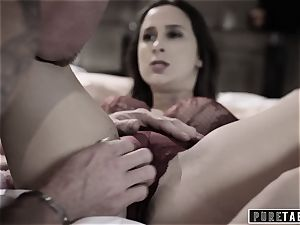 pure TABOO 18yo Ashley Sins Against mom to please daddy