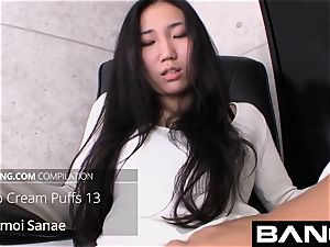 finest of Uncensored japanese creampie Compilation