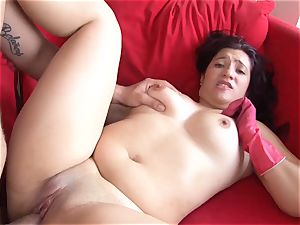 OPERACION LIMPIEZA - Latina Ana Mesa gets screwed deep