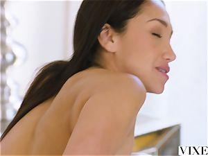 VIXEN An Irresistible secretary Fufills Her fantasy