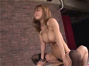 ample globes Haruka Sanada incredible orgy in flaming episodes