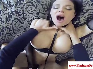Veronica Avluv pulverizes and sucks point of view and cant get enough