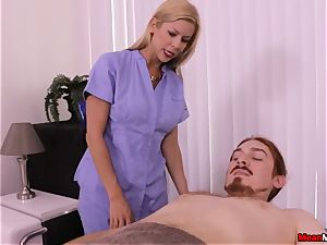 platinum-blonde milf pulsating weenie Having Some painful climax