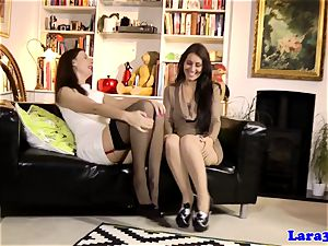 classy cougar tongues uber-sexy stunners coochie