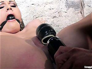 Clair Brooks nymph in bondage