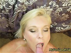 Ms Paris loves a prick in Her rump