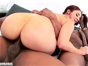 Sheena Ryder - black dudes love giant milky bouncy butt