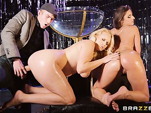 Monster beef whistle longing Amirah Adara and Angel Wicky