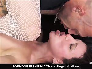 audition ALLA ITALIANA - novice buttfuck gape and plow