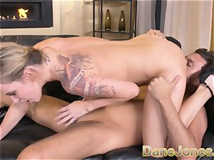 Dane Jones hefty hooters ash-blonde Angel Piaff sloppy bj
