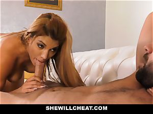 SheWillCheat - super hot cheating wifey vengeance smashing