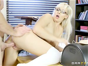 big-titted youthfull college girl Kylie Page on practical lessons of bang-out education