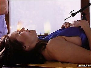 stunning Mimi Rogers gets her entire body massaged