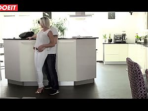 nasty stepmom gets porked hard-core by her stepson