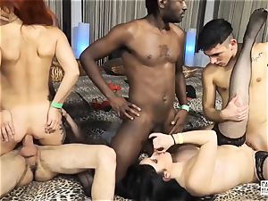 audition ALLA ITALIANA - naughty Italian interracial bang-out