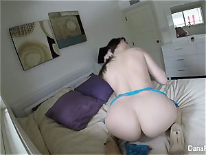 Self shot solo joy with marvelous brunette Dana DeArmond