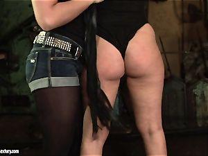 Kathia Nobili bi-atch use flog to a super-naughty stunner