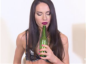 Bottle In Her caboose