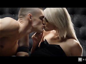 xCHIMERA - glamour hotel apartment shag with platinum-blonde Katy Rose
