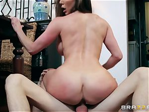 lustful thick breast milf Kendra zeal prefers her daughter's young boyfriends