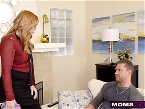 mother Helps daughter train Step brother A Lesson S9:E9