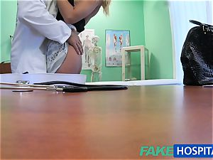 FakeHospital physician smashes minx in job interview
