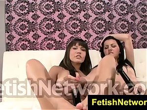 FetishNetwork Mena Zareena nylon cranks