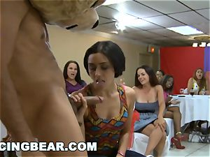 CFNM Bachelorette party with the meaty schlong Dancing teddy