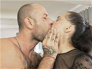 HER confine - harsh buttfuck and gagging for enslaved minx