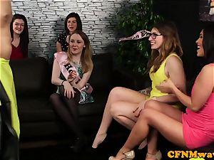 CFNM bachelorette wanking male strippers fuck-stick