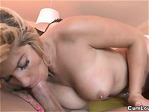 mexican Carol Ferrer liking a fine boning