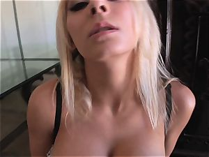 Madison Ivy really know how to deep-throat scrotum