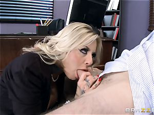 super-fucking-hot Headmistress Britney Shannon gets her hands on a ultra-kinky student