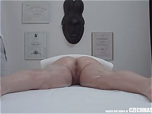 big-titted ash-blonde rails masseuse