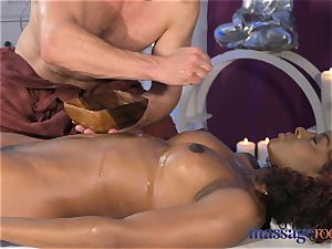 massage apartments spurting ejaculation for sizzling ebony woman