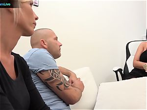 Blanche Summer and Tiffany Rousso luvs swingers