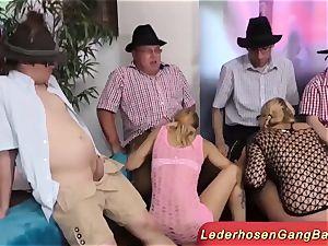 epic German lederhosen soiree intercourse
