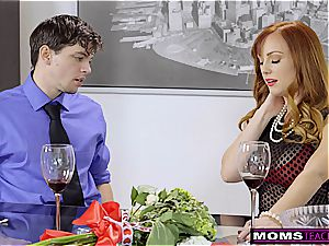 MomsTeachSex- mommy And StepSons Romantic VDay drill S7:E7
