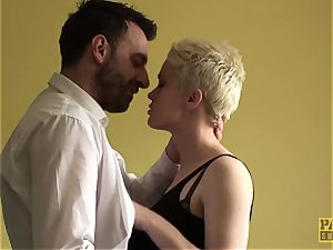 spurting uk victim ass-fucked toughly by male domination