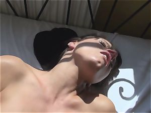 Kari Sweets banged With sunburn Nylon