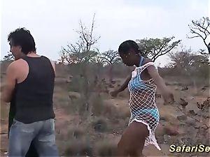 gigantic facial cumshot on a african stunner