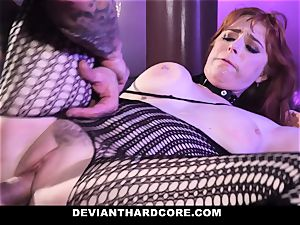 DeviantHardcore - steamy red-haired Gets hatch nailed